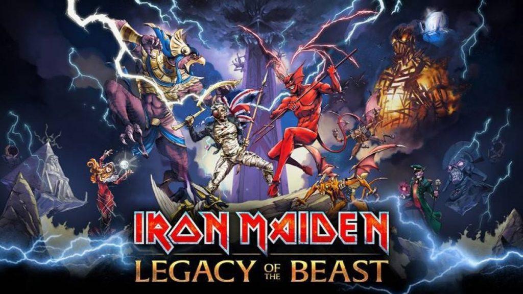 Foto de Llegan a Perú los comics de Iron Maiden: Legacy of the Beast