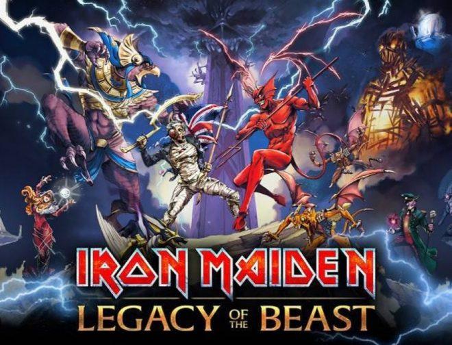 Fotos de Llegan a Perú los comics de Iron Maiden: Legacy of the Beast