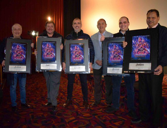 Fotos de La Distribuidora de Películas Cinecolor Group Premia a los Cines Peruanos por los Récords de Avengers: Endgame