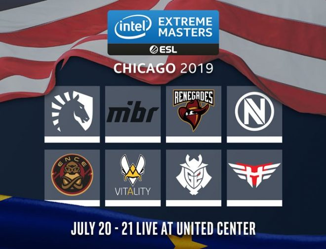 Fotos de Playoffs de la Intel Extreme Masters Chicago de Counter-Strike: Global Offensive
