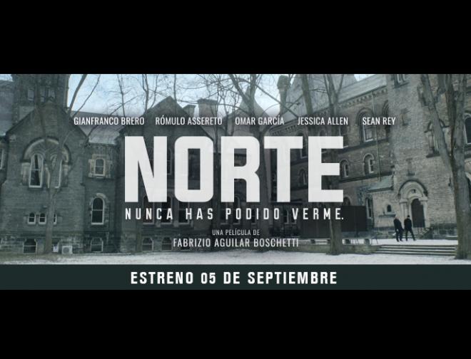 Fotos de Primer Afiche de Norte, la Nueva Película del Director Peruano Fabrizio Aguilar