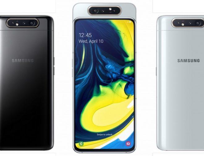 Fotos de Conozcan más del A80 Primer Smartphone con Cámara Giratoria de Samsung