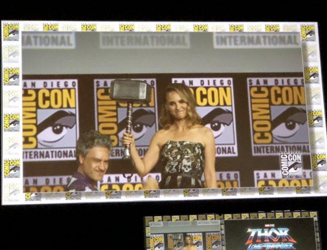 Fotos de Marvel SDCC: Natalie Portman Regresa en Thor: Love And Thunder, Siendo la Primera Thor Mujer