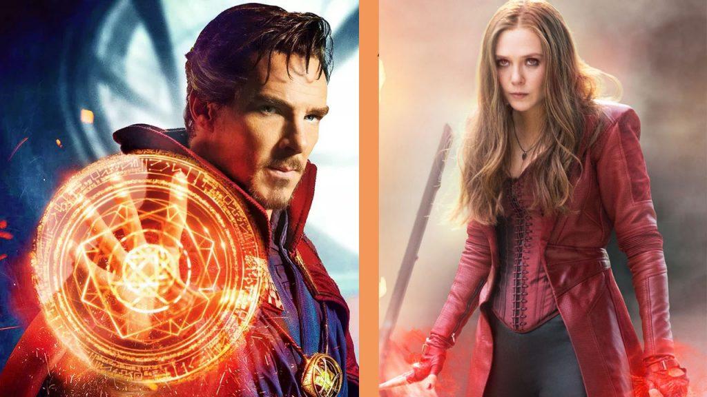 Foto de Marvel SDCC: Doctor Strange y Scarlet Witch trabajarán juntos en Doctor Strange in the Multiverse of Madness