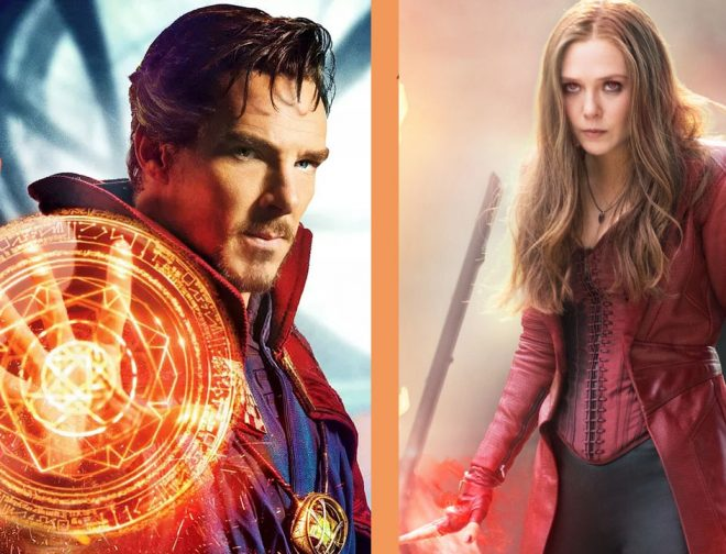 Fotos de Marvel SDCC: Doctor Strange y Scarlet Witch trabajarán juntos en Doctor Strange in the Multiverse of Madness