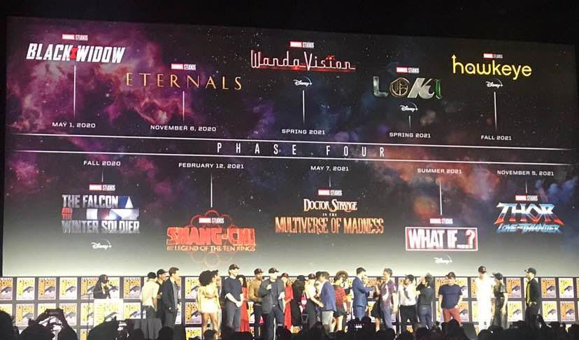Foto de Marvel SDCC: Se anunció la Fase 4 del MCU