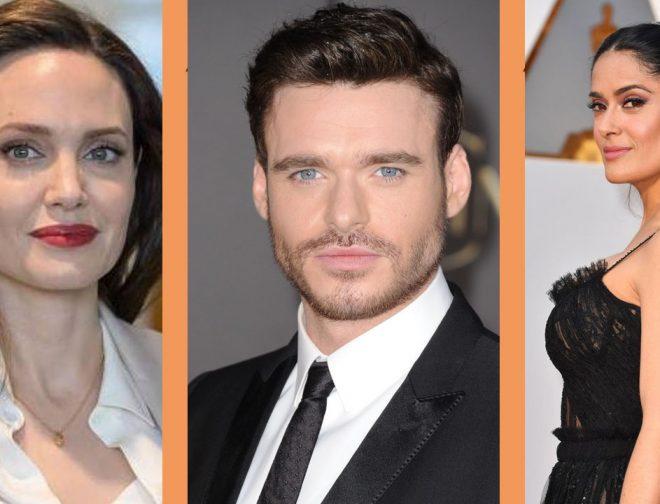 Fotos de Marvel SDCC: Se anuncia el cast de Eternals con Angelina Jolie, Salma Hayek y Richard Madden