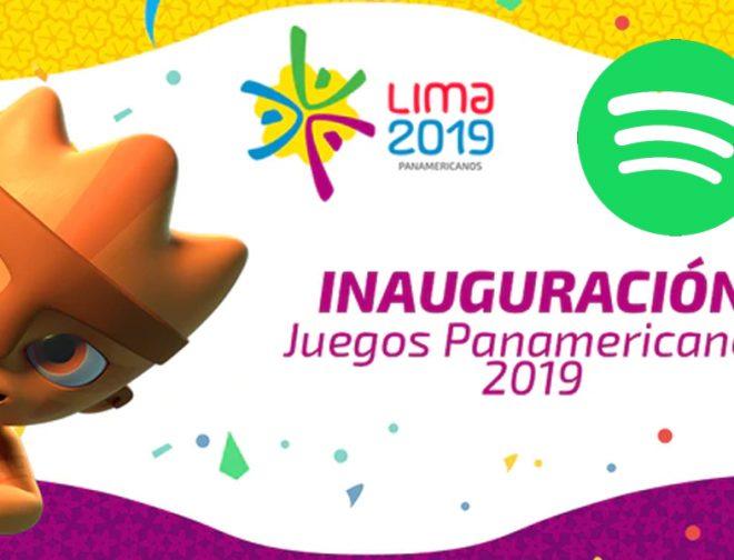 Fotos de La playlist en Spotify de los Panamericanos Lima 2019