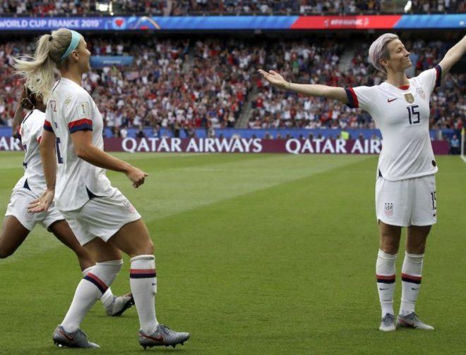 Fotos de Los Simpson homenajean a las campeonas femeninas de fútbol