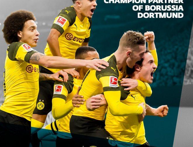 Fotos de ESET se asocia con el club Alemán de Fútbol Borussia Dortmund