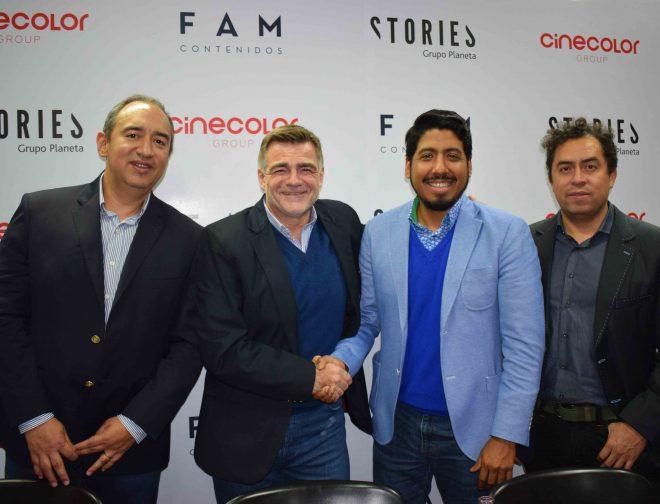 Fotos de Nace STORIES Latinoamérica, Donde Tres Grandes Empresas se Unen para el Desarrollo de Proyectos y Contenido Audiovisual