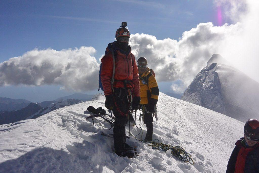 Foto de Thomas Schilter, un joven escalador peruano y su reto por dar a conocer el proyecto social Cumbres Solidarias
