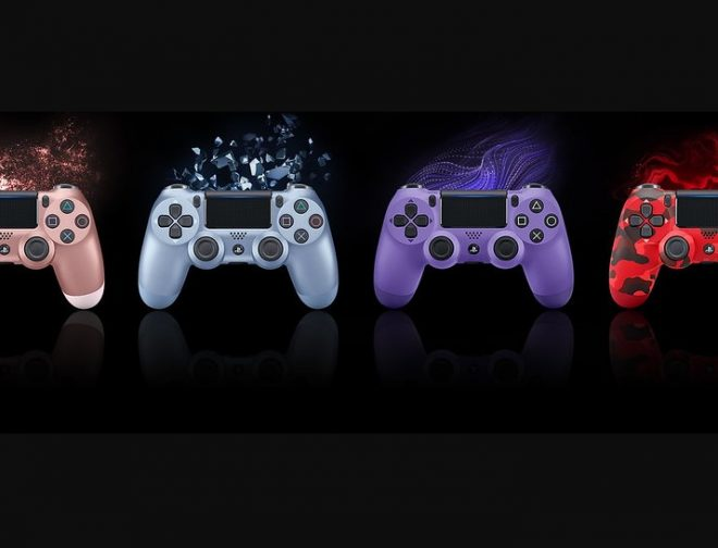 Fotos de Tenemos Cuatro Nuevos Colores del Mando DualShock 4 por Parte de PlayStation