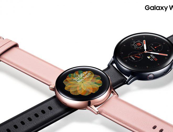 Fotos de Características del Nuevo Galaxy Watch Active2 de Samsung