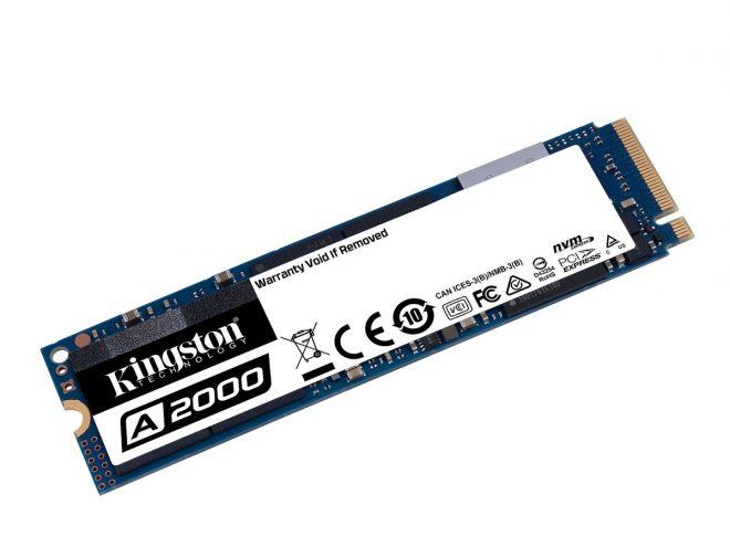 Fotos de Kingston lanza SSD NVMe PCIe A2000 de próxima generación