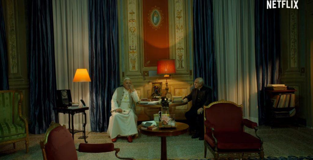 Foto de Netflix Lanza el Primer Avance de la Esperada Película Los Dos Papas