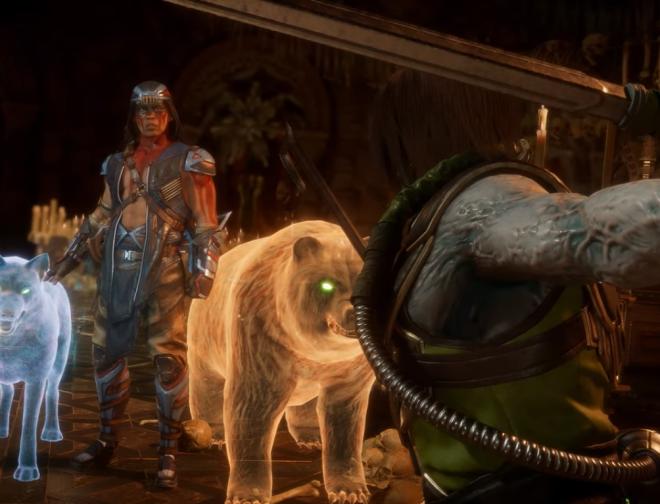 Fotos de Nightwolf Llega con un Espectacular Fatality a Mortal Kombat 11 en su Primer Gameplay