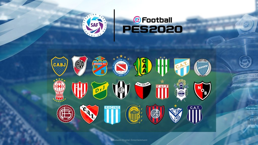 Foto de Los Clubs River Plate y BOCA Juniors Llegan de Forma Exclusiva a eFootball PES 2020