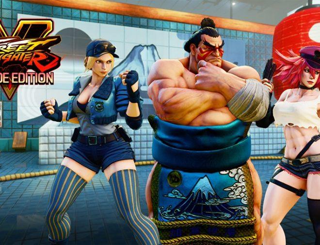 Fotos de E. Honda, Lucia y Poison se Unen a Street Fighter V: Arcade Edition
