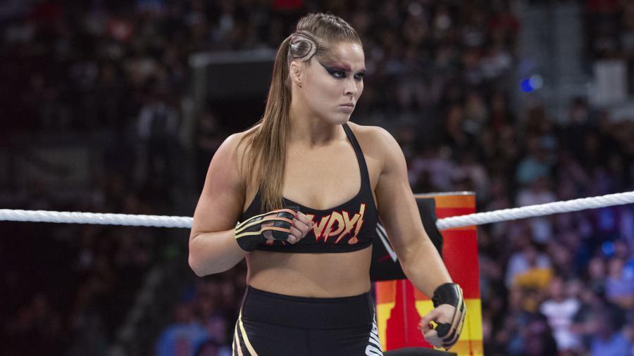 """Foto de Ronda Rousey se emociona al conocer a """"Leroy Jenkins"""" en el comercial de World of Warcraft"""