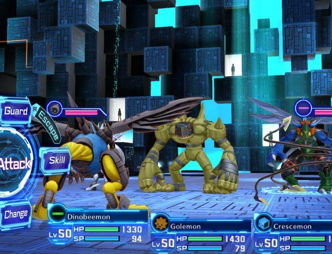 Fotos de Battle Gameplay Trailer de Digimon Story Cyber Sleuth: Complete Edition