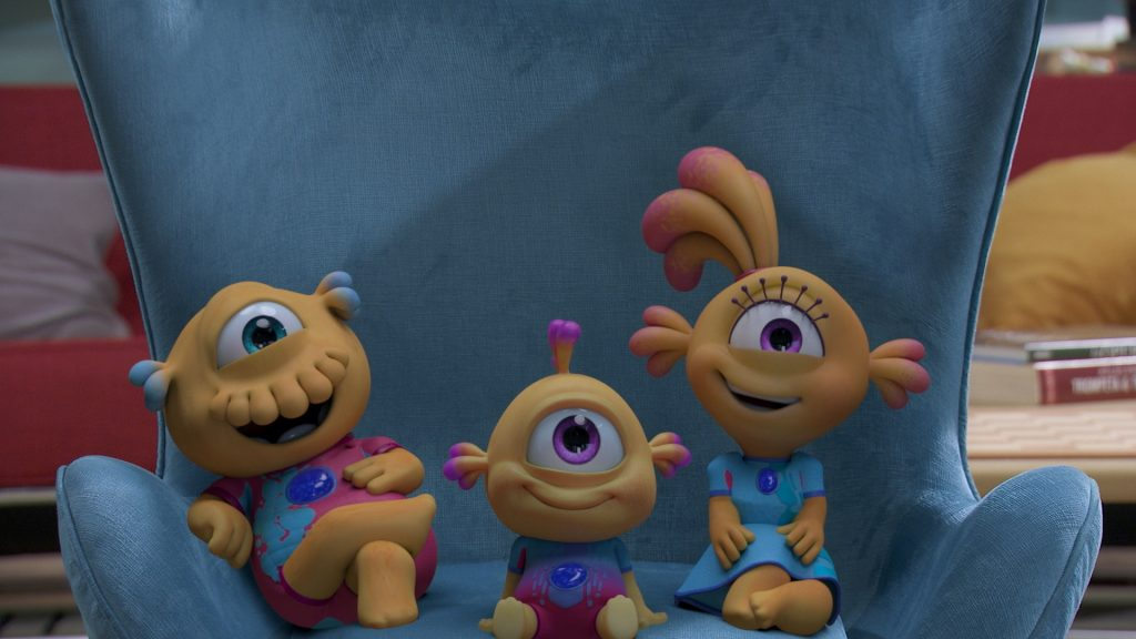 Foto de Más risas de otro planeta: El 23 de septiembre llegan nuevos episodios de Nivis, Amigos De Otro Mundo a Disney Junior