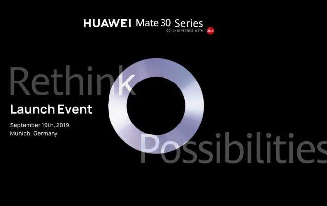Fotos de Sigue la Transmisión del Lanzamiento Mundial del Huawei Mate 30