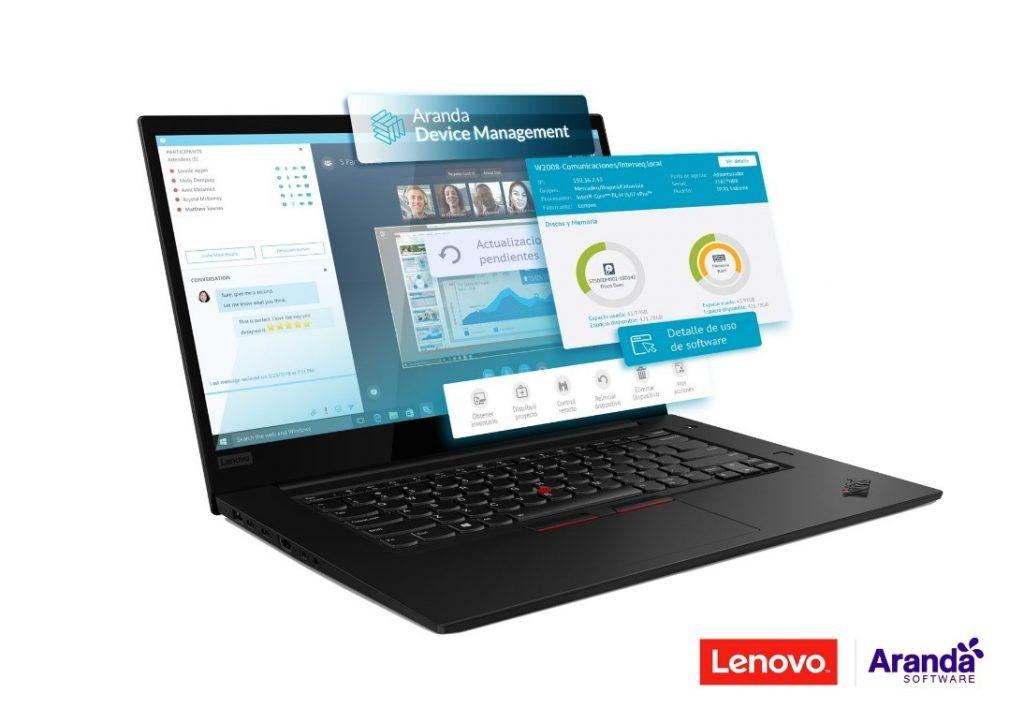 Foto de Lenovo y Aranda Software se unen para revolucionar la oferta tradicional de PC´S en el mercado Latinoamericano