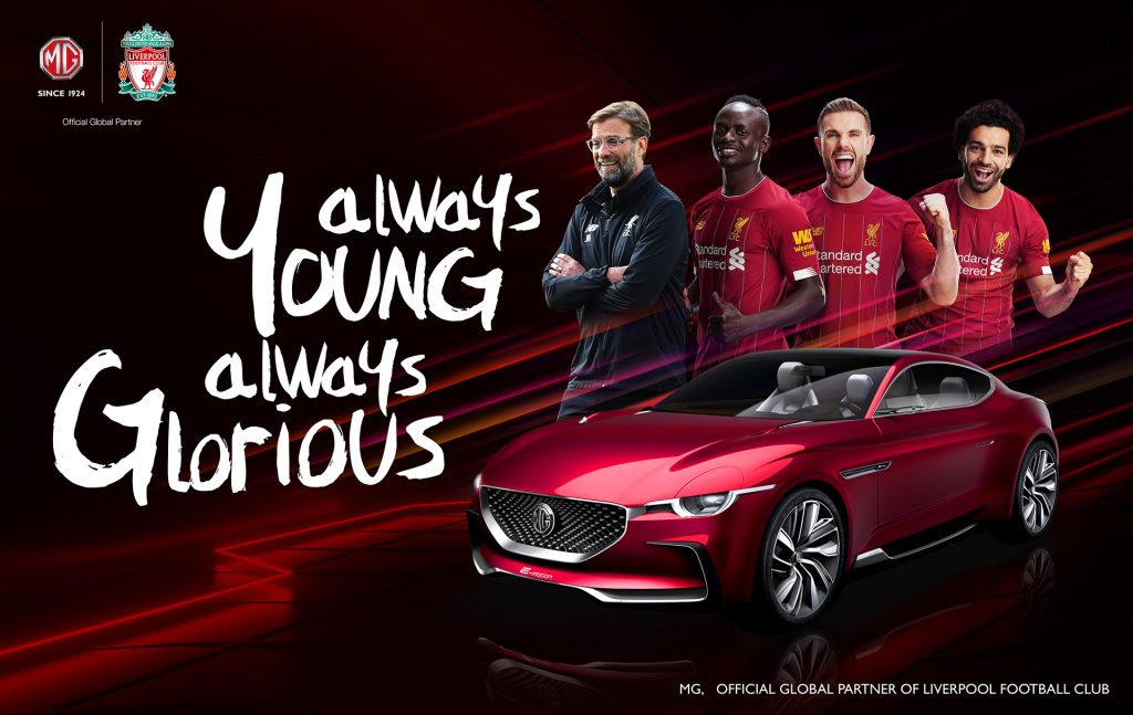 Foto de Morris Garages es el nuevo partner global del Liverpool Football Club