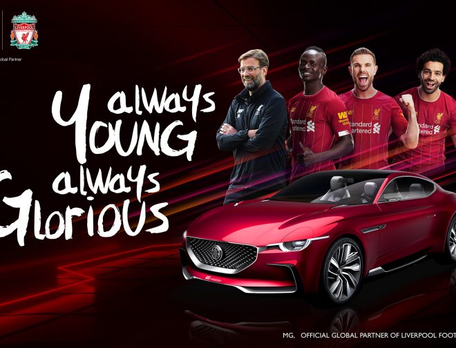 Fotos de Morris Garages es el nuevo partner global del Liverpool Football Club