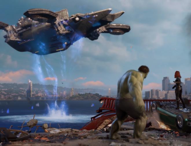 Fotos de Avance del Personaje de Hulk, para el Videojuego Marvel's Avengers
