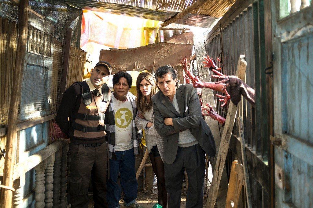 Foto de Primer Tráiler de la Nueva Película Peruana Aj Zombies