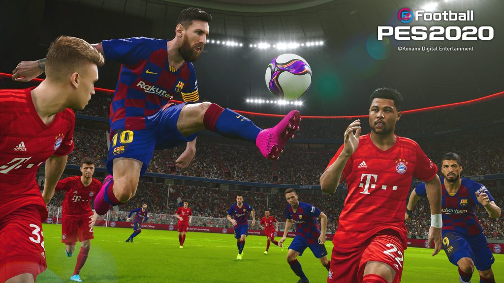 Foto de eFootball PES 2020 ya está disponible para todos los fanáticos del fútbol virtual