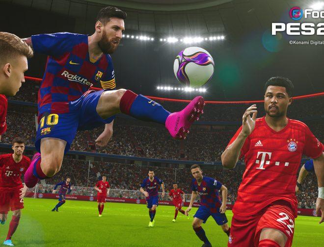 Fotos de eFootball PES 2020 ya está disponible para todos los fanáticos del fútbol virtual