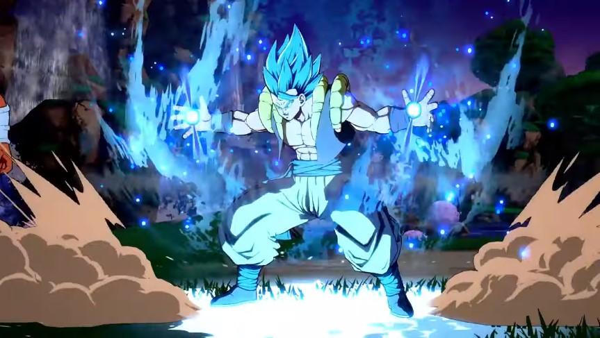 Foto de Trailer de lanzamiento de Gogeta Super Saiyayin God Super Saiyan