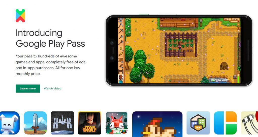 Foto de Google presenta Google Play Pass