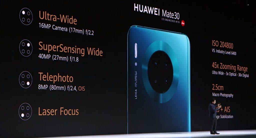 Foto de Huawei presentó los nuevos Mate 30 y Mate 30 Pro