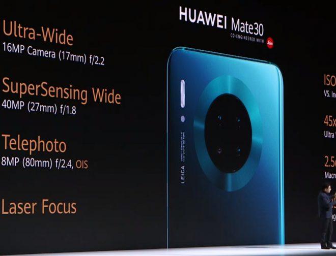 Fotos de Huawei presentó los nuevos Mate 30 y Mate 30 Pro