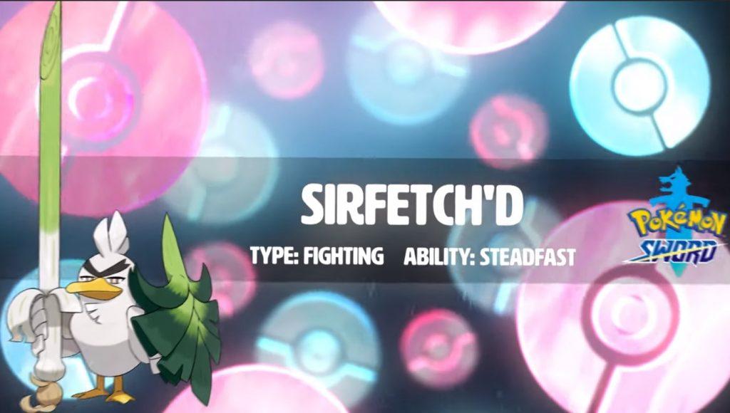 Foto de Conozcamos a Sirfetch'd de Pokemon Sword