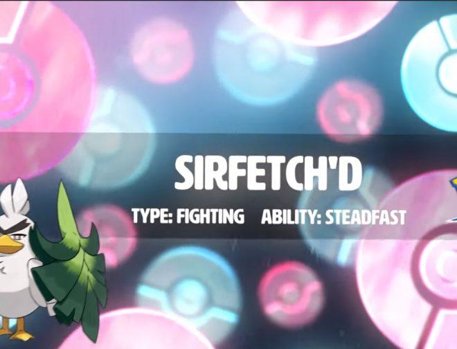 Fotos de Conozcamos a Sirfetch'd de Pokemon Sword