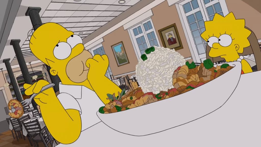 Foto de Recreando el recorrido gastronómico de Los Simpson en New Orleands