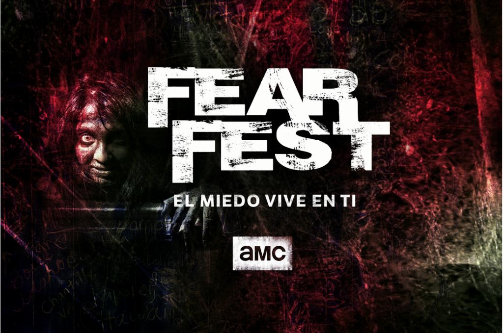 """Foto de Por primera vez en América Latina, AMC presenta el especial """"Fear Fest"""" con sus series y películas de  horror favoritas"""