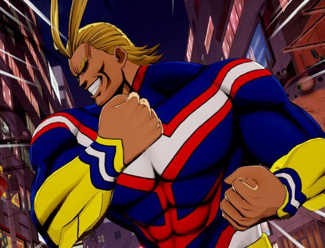 """Fotos de ¡Prepárate para un poco de """"Poderrr""""! Miro se une junto a All Might y Shigaraki a My Hero One's Justice 2"""
