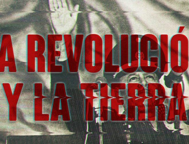 """Fotos de Reseña: """"La revolución y la tierra"""""""