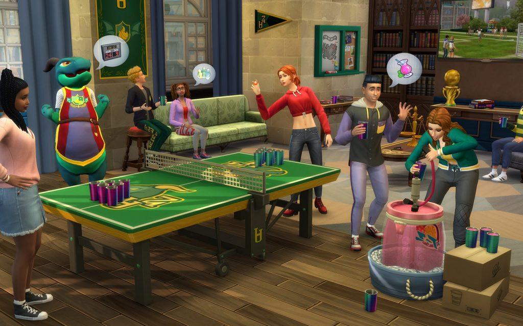 """Foto de Sims 4 anuncia expansión """"Universitarios"""""""