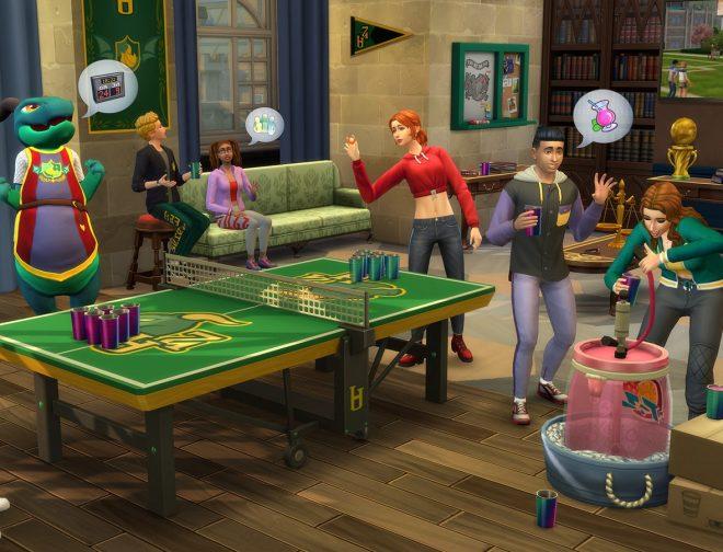 """Fotos de Sims 4 anuncia expansión """"Universitarios"""""""