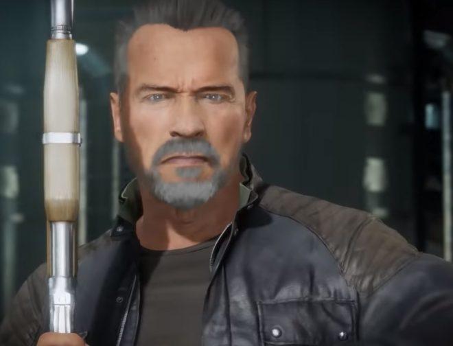 Fotos de Terminator llegó a Mortal Kombat y con todas sus referencias