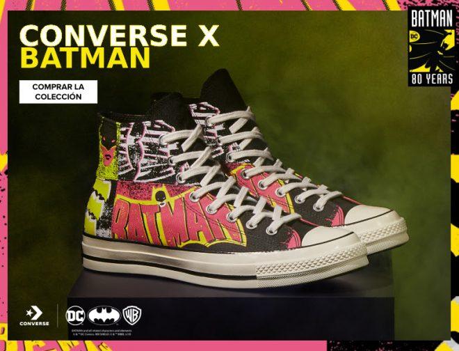Fotos de La Colección de Zapatillas: Converse x Batman, ya se Vende en Perú