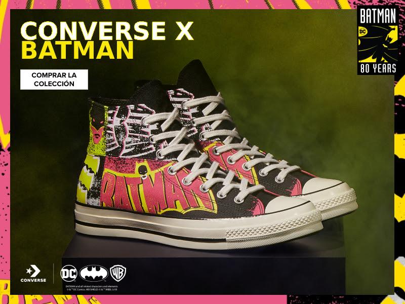 Foto de La Colección de Zapatillas: Converse x Batman, ya se Vende en Perú