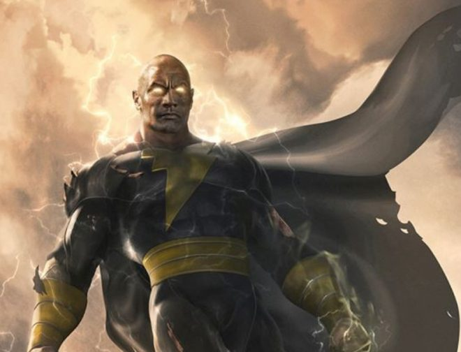 "Fotos de Dwayne ""The Rock"" Johnson Confirma que la Película de Black Adam Llegará en el 2021"